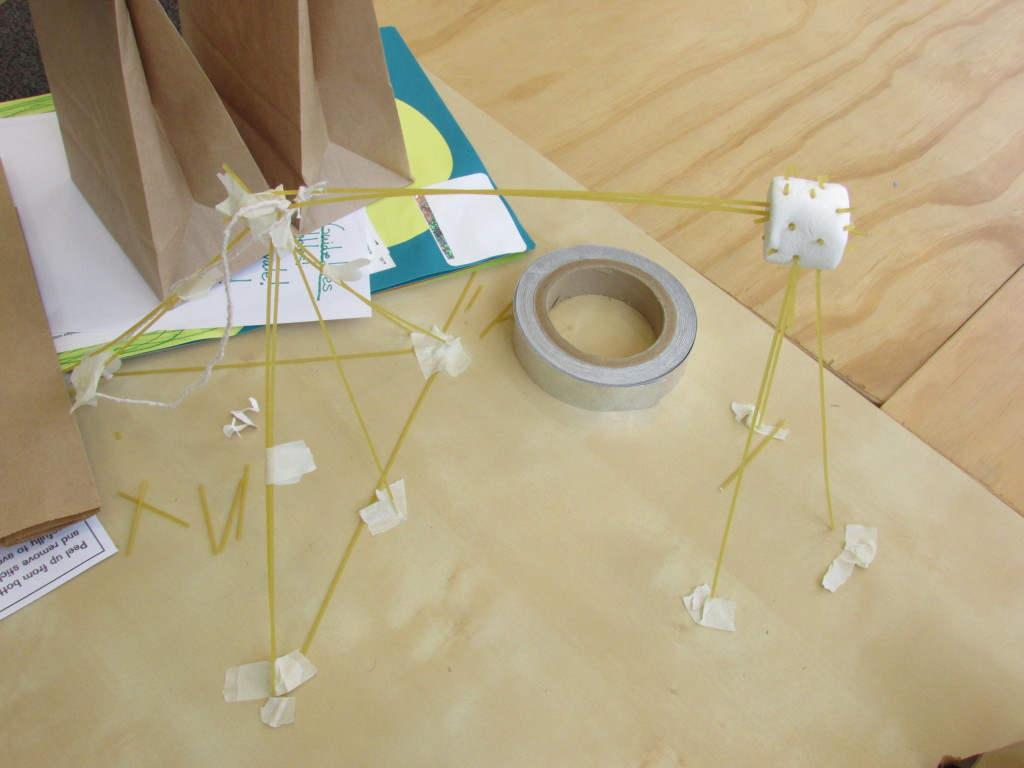 Marshmallow challenge from Maker Dictionary